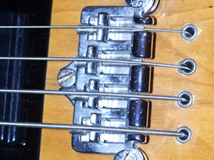 Strung-through-body electric bass