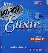Anti-rust guitar strings